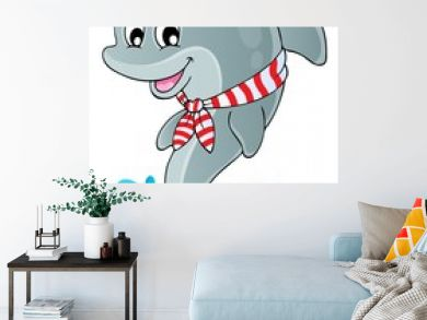 Image with dolphin theme 1