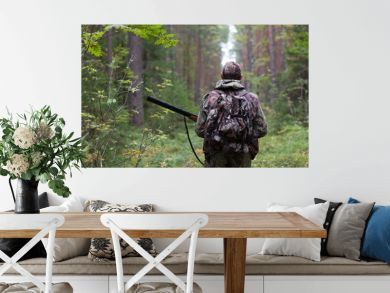 hunter in the forest