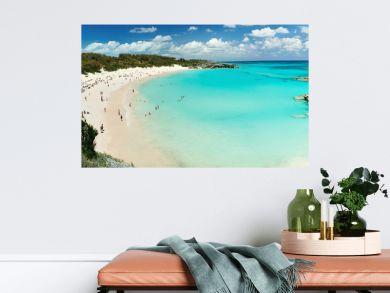 Beach on Bermuda islands