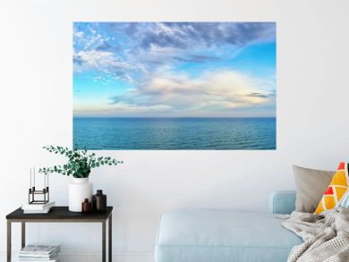 beautiful seascape panorama.