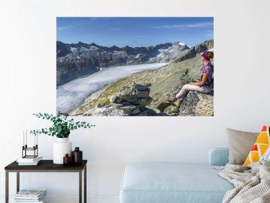 Bergsteigen am Rhonegletscher