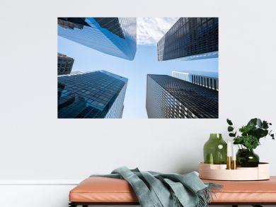 Wolkenkratzer in New York City, USA