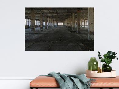 Abandoned factory panorama