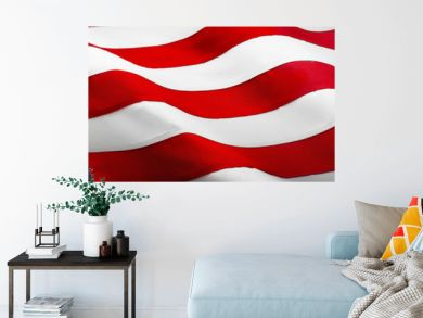 American Wave Flag