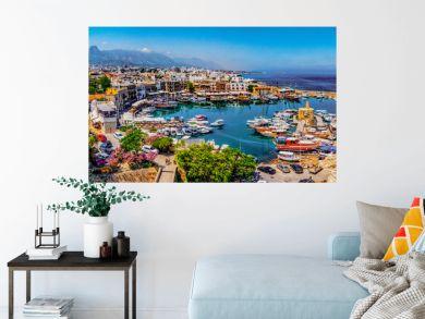 Kyrenia marina in Cyprus