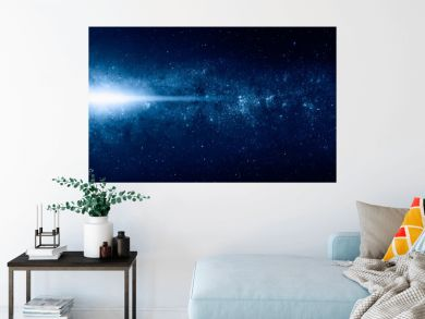 """Supernova explosion in the center of the milky way """"Elements of this image furnished by NASA """""""