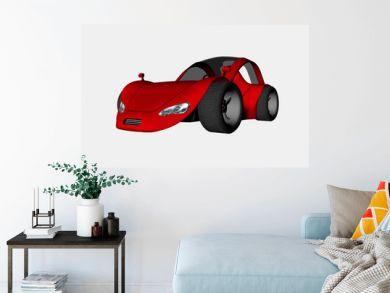 sports car one