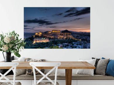 Parthenon and Acropolis, Athens at sunrise