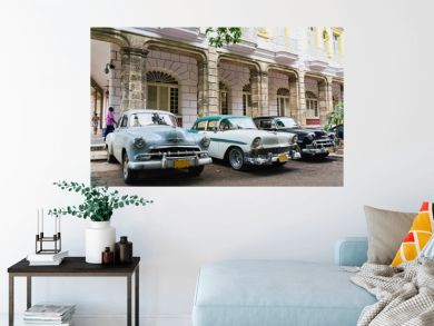 Havana, Cuba. Street scene.