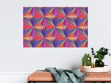 Seamless Psychedelic Pattern