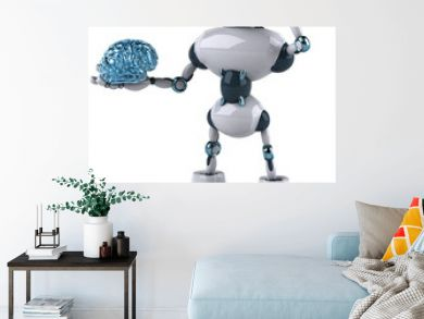 Robot and brain