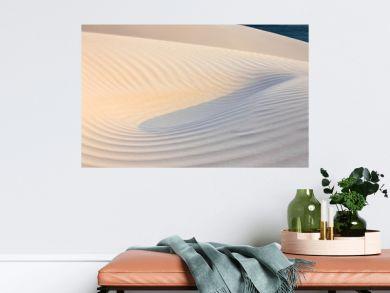 Sand desert surface – white dunes of Socotra island