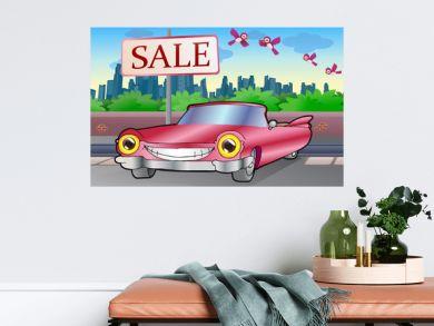 pink cadillac sale