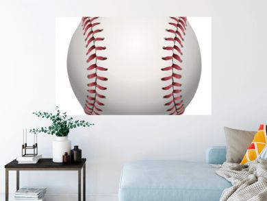 Isolated Baseball Illustration