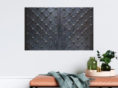 forged metal background black dark