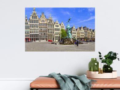 Antwerpen, Belgium.  square of old town