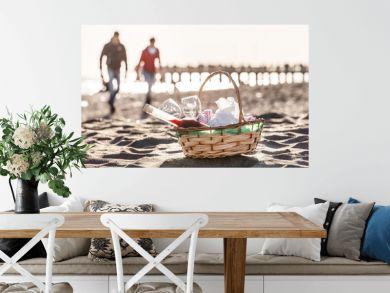 picnic on the beach