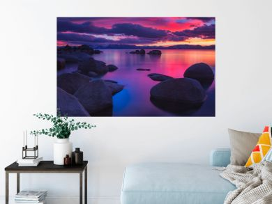 Northe Lake Tahoe Sunset