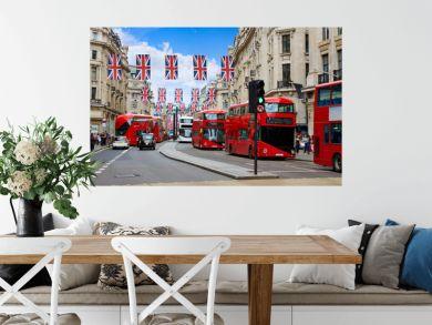 London Regent Street W1 Westminster in UK