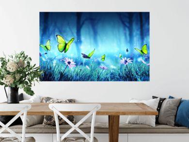 Fairy Butterflies In Mystic Forest
