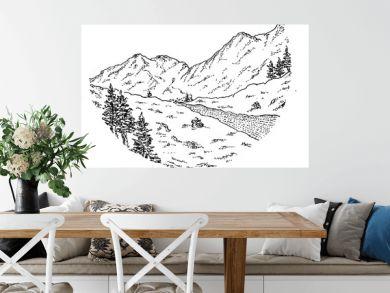 Sketch 03 - Mountain View