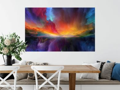 Vision of Abstract Landscape