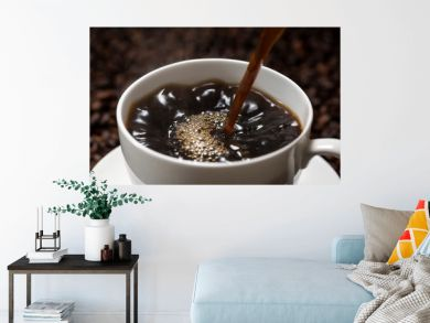 コーヒーを入れる