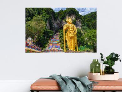 Batu cave in Malaysia, Hinduism temple