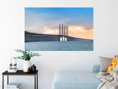The Oresund bridge panorama