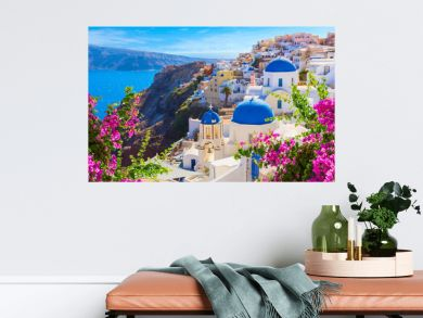 Santorini island, Greece.