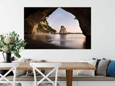 Cathedral Cove at sunrise, Coromandel, North Island, New Zealand