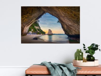 Cathedral Cove North island new Zealand cave