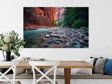 Zion River Bend