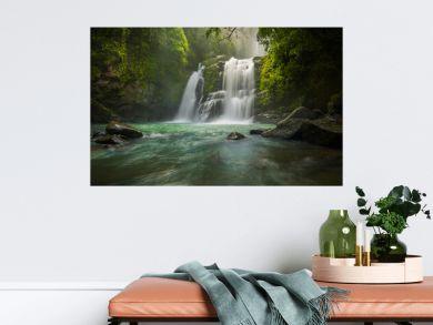 Nauyacas waterfall