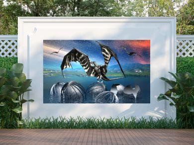 Dragon - Fantasy Scene