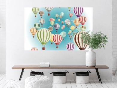 Set of balloons