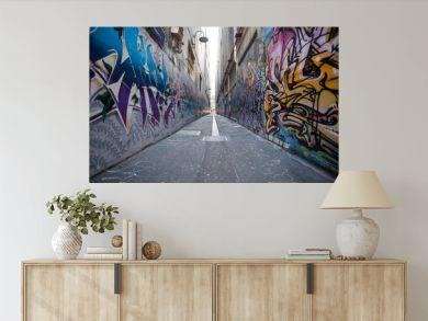 graffiti city in Melbourne
