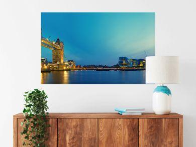 Tower Bridge and Southwark.