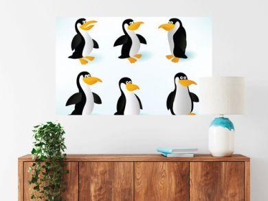 Six Penguins