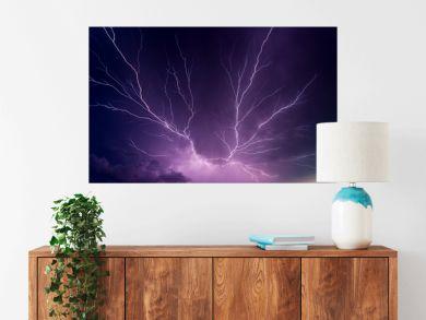 Powerful lightnings