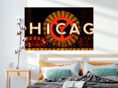 Chicago Sign Landscape