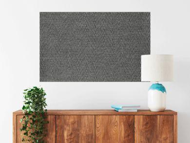 texture fabric a herringbone of gray color