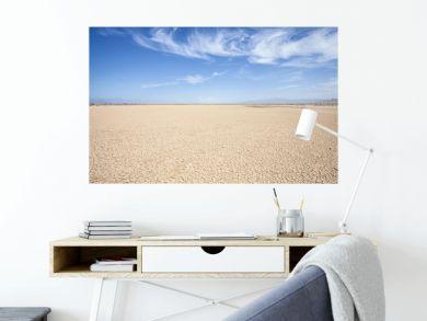 California Desert Dry Lake