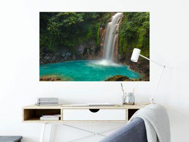 Beautiful Rio Celeste Waterfall