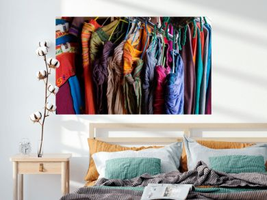 Textile goods on the indian market