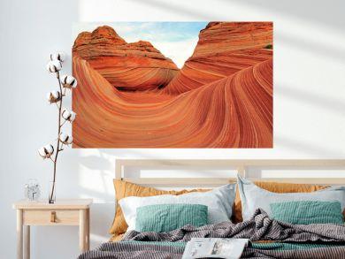 The Wave in the Arizona desert, USA.