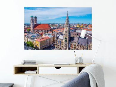 Panorama München Innenstadt