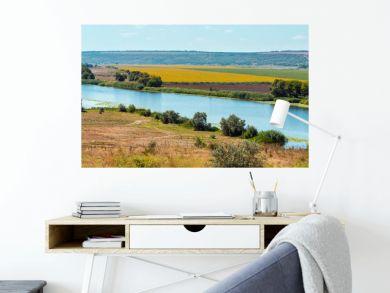 Summer Southern Bug river, Ukraine