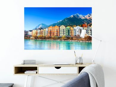 Innsbruck cityscape, Austria