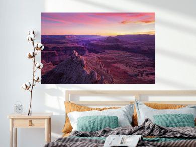Amazing sunset at the Grand Canyon, Arizona, USA.